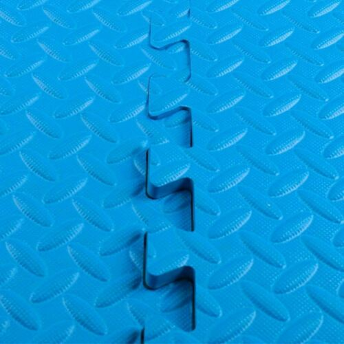 9HORN Exercise Mat//Protective Flooring Mats with EVA Foam Interlocking Tiles and