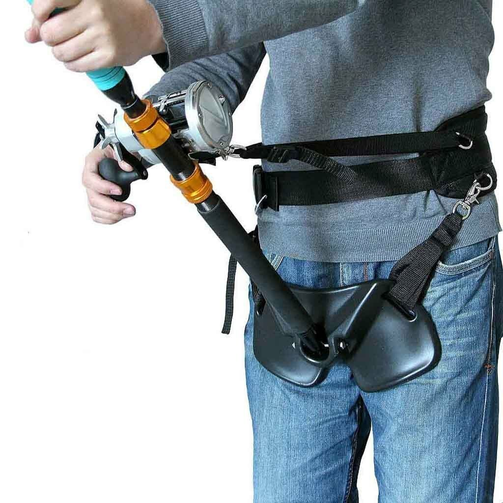 CANNA Da Pesca Titolare imbracatura regolabile combattimento Girovita Cintura Di Supporto 3751 pollici