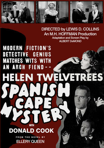 The Spanish Cape Mystery [New DVD]