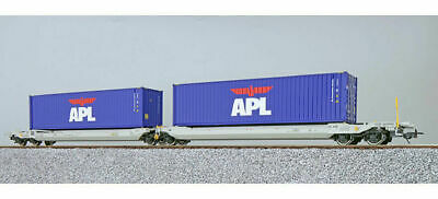 ESU Pullmann 36541 HO Taschenwagen 2 Container MEDU+MEDU NL AAEC Ep VI
