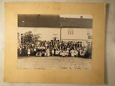 Genthin-maggio 1934-gruppi immagine con soldati donne ragazze uomini giovani FOTO