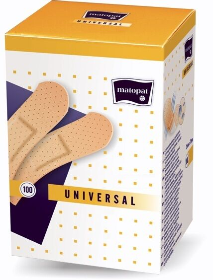 100 Pflaster Fingerpflaster Pflasterstreifen Fingerverband 25 x 76 mm