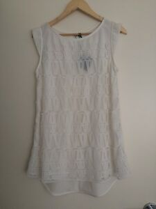 Zed-Alliance-White-Top-dress-Size-1-8-BNWT-rRP-89-95