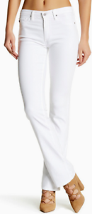 AG Jeans The Jodi High Rise Slim Boot Jeans White 26 NWT
