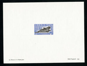 Liberia-Stamps-Frog-Essay-Large-Scarce