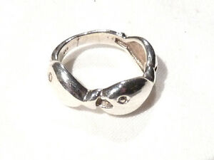 Bijou-argent-925-bague-poissons-taille-53-ring