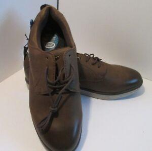Declan Shoes Brown Cushion Scholl's 8~8 Mens Gel Dr 5~9~10 Oxford 5jRq43LA