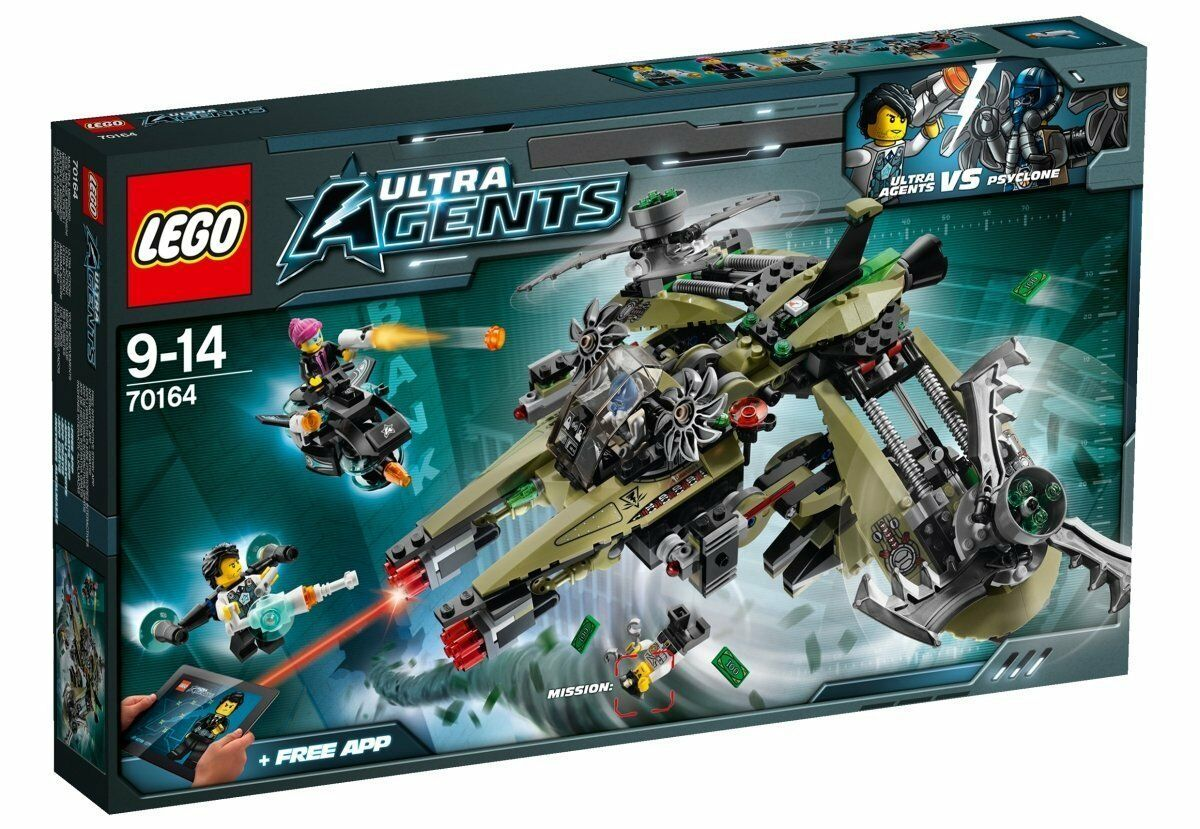 LEGO 70164 Ultra Agents Hurrikan-Überfall NEU OVP