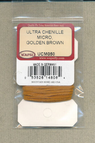 golden brown     UCM050 Ultra chenille micro