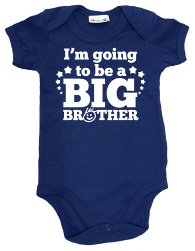 """Dirty Fingers /""""I/'m Going to be a Big Brother/"""" Baby Bodysuit Baby Brother Gift"""