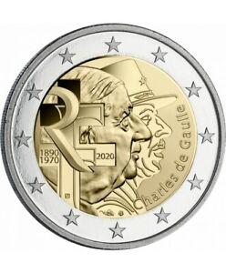 France-2-euro-2020-Charles-de-Gaulle-UNC