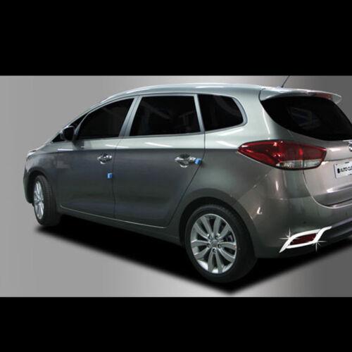 Chrome Fog lamp rear reflector molding for Kia All new Carens Rondo 2013~2016+