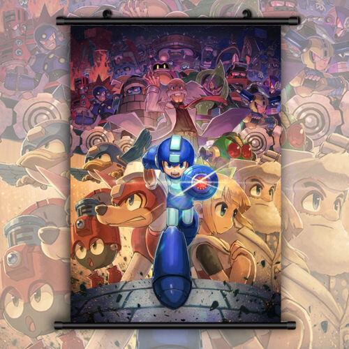 Rockman Megaman HD Wallscroll Poster Kunstdrucke Bider Druck