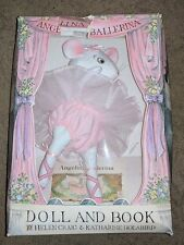 Angelina Ballerina Doll and Book Set PLUSH TOY BRAND NEW OPENED BOX RARE HTF NIB
