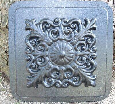 Gostatue raised scroll concrete mold plaster mold casting garden mould