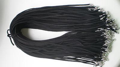 Wholesale 10pcs Bulk lot Multi-color Suede Leather String 50cm Necklace Cords