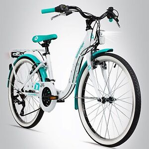 24 zoll kinderfahrrad bergsteiger atlantis stvo shimano citybike m dchen fahrrad ebay. Black Bedroom Furniture Sets. Home Design Ideas