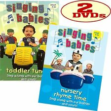 Singing Babies Nursery Rhyme Time Toddler Tunes Dvd S