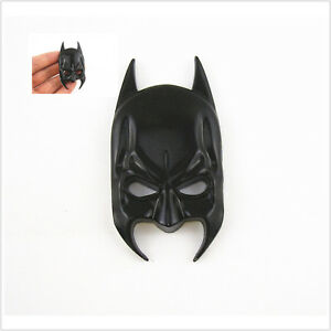 Car Suv Front Door Body Side Fenders Tank Cover Black Batman Mask Sticker Badge Ebay