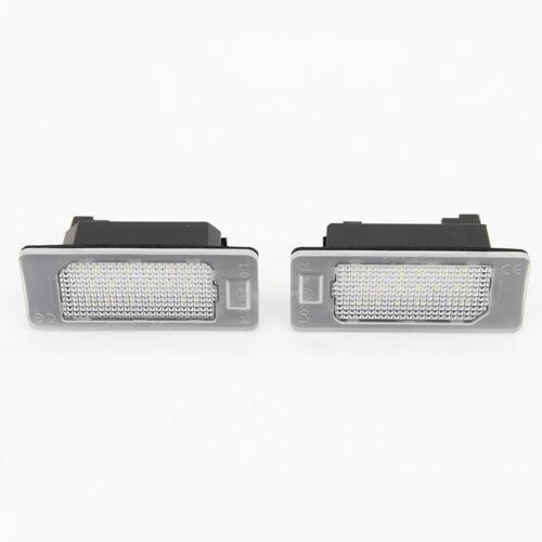 Risparmio energetico LED illuminazione targa per BMW 5er e39 e46 e60 e61 e70 e71