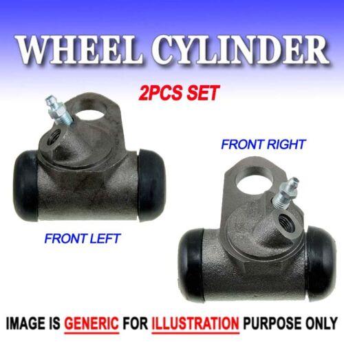 """WC Drum Brake Wheel Cylinder Front L/&R 2PC Set 1965-1970 Chevy 1 3//16/"""""""