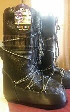 Moon Boot Tecnica Delux - Black Glitter