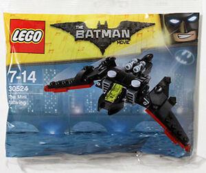 Il-film-LEGO-BATMAN-IL-MINI-Batwing-Set-2017-sacchetto-di-plastica-30524-Ala-Di-Pipistrello-PROMO