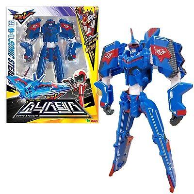 Tobot V Universe/'s Strongest Master V Transforming Robot Toy Complete Package