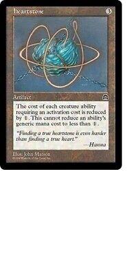 Mint MTG Stronghold Artifact Heartstone