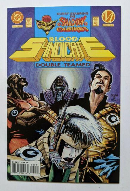Blood Syndicate #20 DC Milestone Comic 1993 Shadow Cabinet Ivan Velez Jr