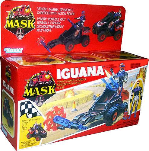 M.a.s.k. Mask Kenner-Iguana Vintage 1986-Coleccionable Misb Nuevo   Afa it