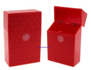 Cigarette Case Champ Red Diamond Pattern Quality Make Your Own