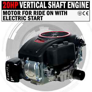 NEW-20HP-Vertical-Shaft-Petrol-Engine-Ride-On-Mower-Motor-With-Electric-Start