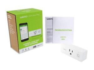 Details about Wemo Mini Smart Plug WiFi Enabled Works with Alexa Google  Assistant & Apple Home