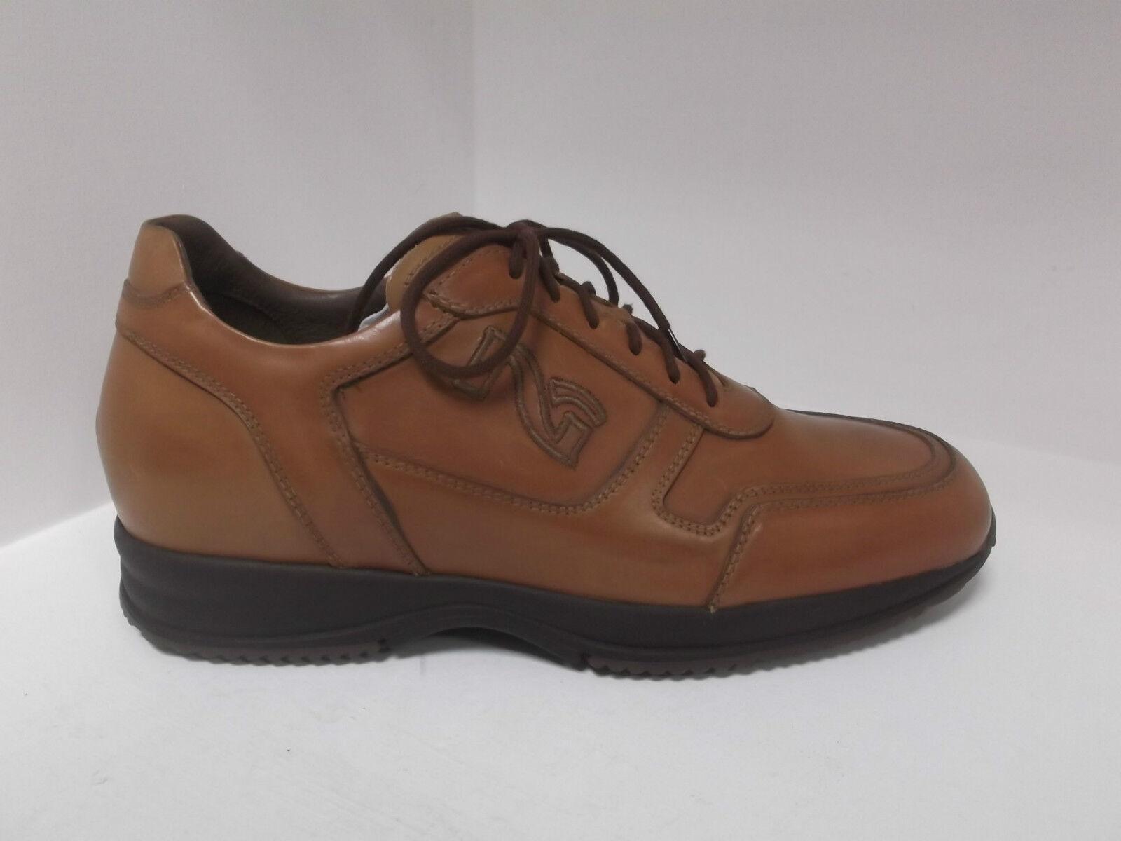 Scarpe Shoes Uomo Nero Giardini Cuoio 393/400 disponibile solo 43 / 44