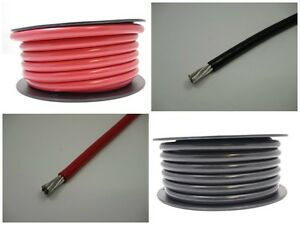 4 Awg Gauge Battery Cable Marine Grade Tinned Copper Wire Flexible