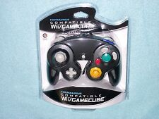Brand New Controller for Nintendo GameCube or Wii -- BLACK