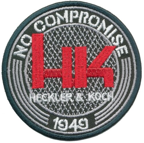 Hk Heckler /& Koch Iron on sustancia Patch-no compromise 02
