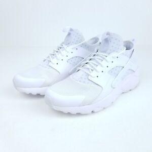 7e4822dfe15a Nike Air Huarache Run Ultra Men s Sneakers Triple White 819685 101 ...