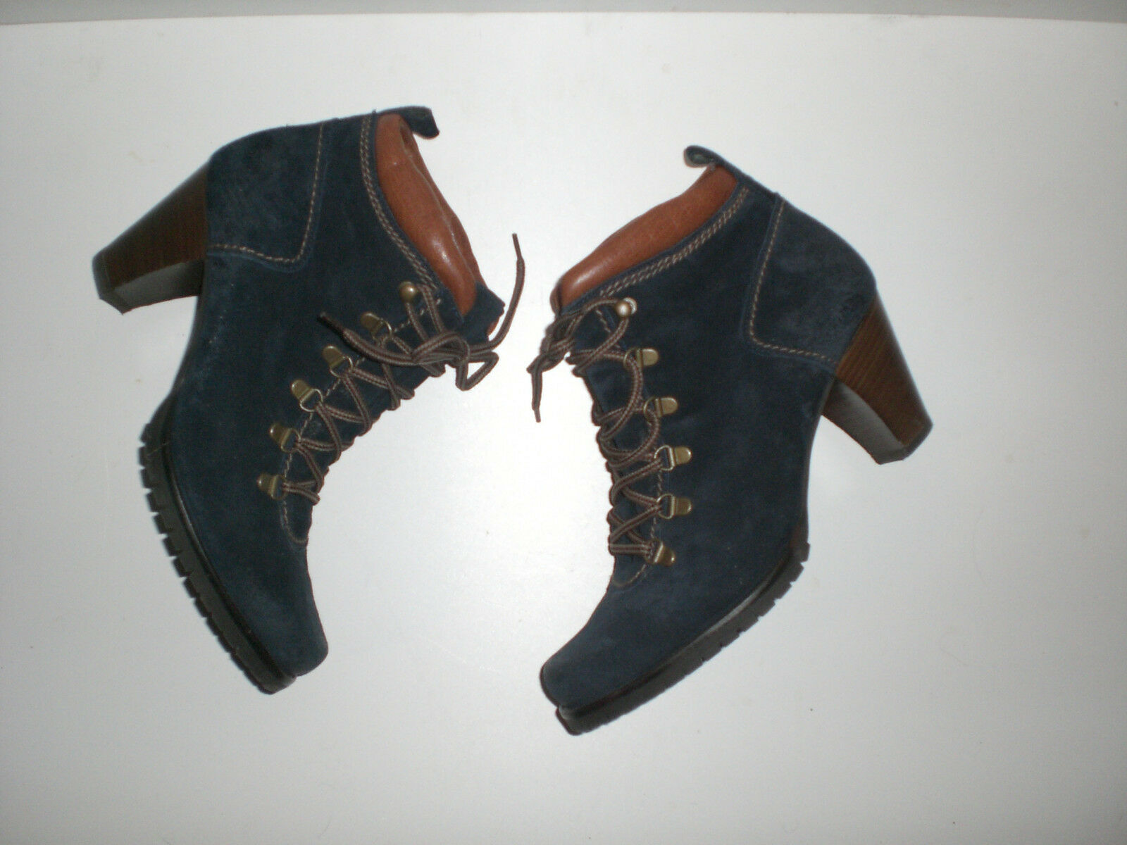 Paul Green Stiefeletten Boots in blau Gr.7