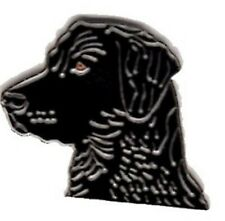 Black Labrador Dog Design Metal Enamelled Pin Badge Lapel Badge XJKB12-60