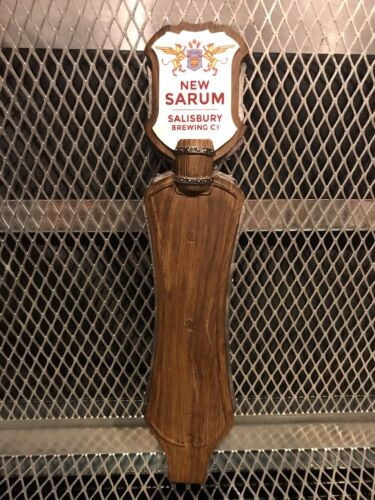 NEW SARUM BREWING N Carolina ~ Round House Robust PORTER ~ Beer Tap Handle