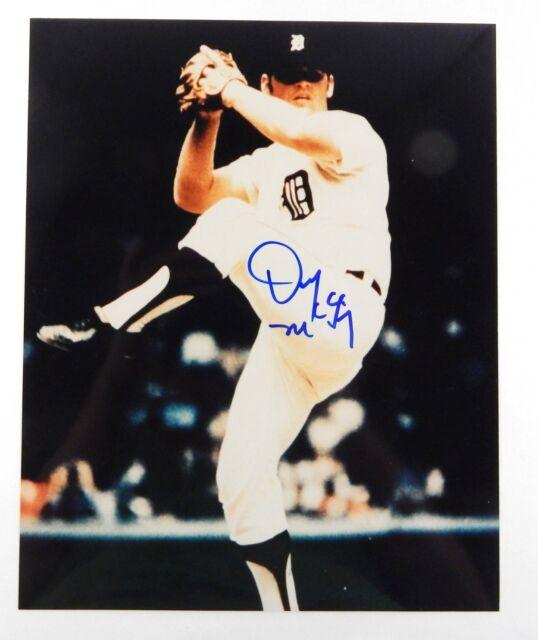 Denny McLain Signed Color 8x10 Photo ^ Detroit Tigers