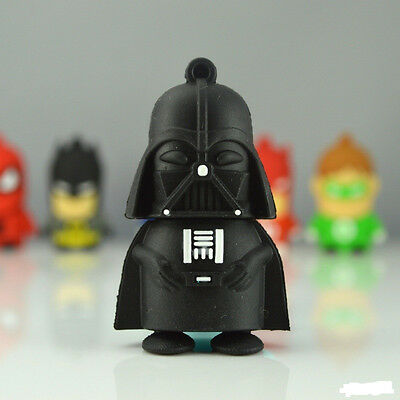 Dark Warrior Darth Vader USB 2.0 Memory Stick Flash pen Drive 4GB 8GB 16GB 32GB