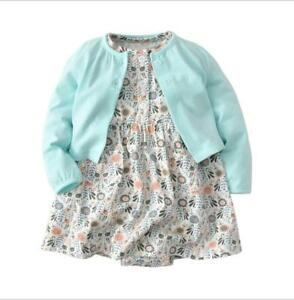 2pcs-Set-Kids-Baby-Girl-Cotton-Clothes-Toddler-Dress-Long-Sleeve-Coat-Top-Outfit