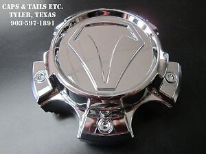 2007 - 2018 Toyota Tundra Center Cap A89-9586T 890C01 Snap In Chrome NEW OEM