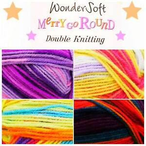 Stylecraft-Wondersoft-MERRY-GO-ROUND-DK-Acrylic-Double-Knitting-Yarn-Wool-100g