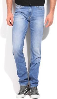 Lee Slim Mens Blue Jeans (Flat 50% OFF)- 97T