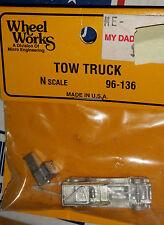 N Scale Micro Engineering Tow Truck 96-136 NIB