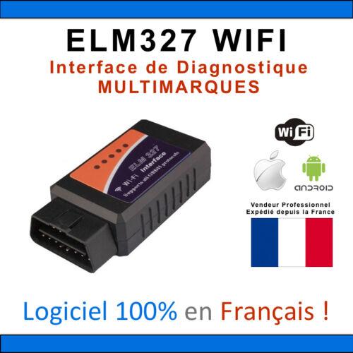 WIFI ELM327 Sans Fil OBDII OBD2 Auto Voiture Diagnostic Scanner Pr iPhone iPad